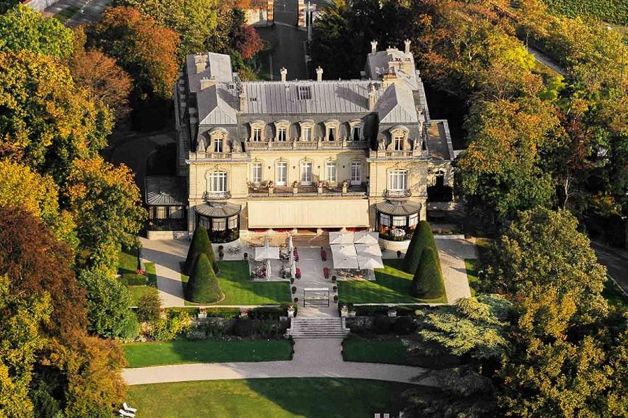 hôtel de luxe et restaurant gastronomique Domaine Les Crayères