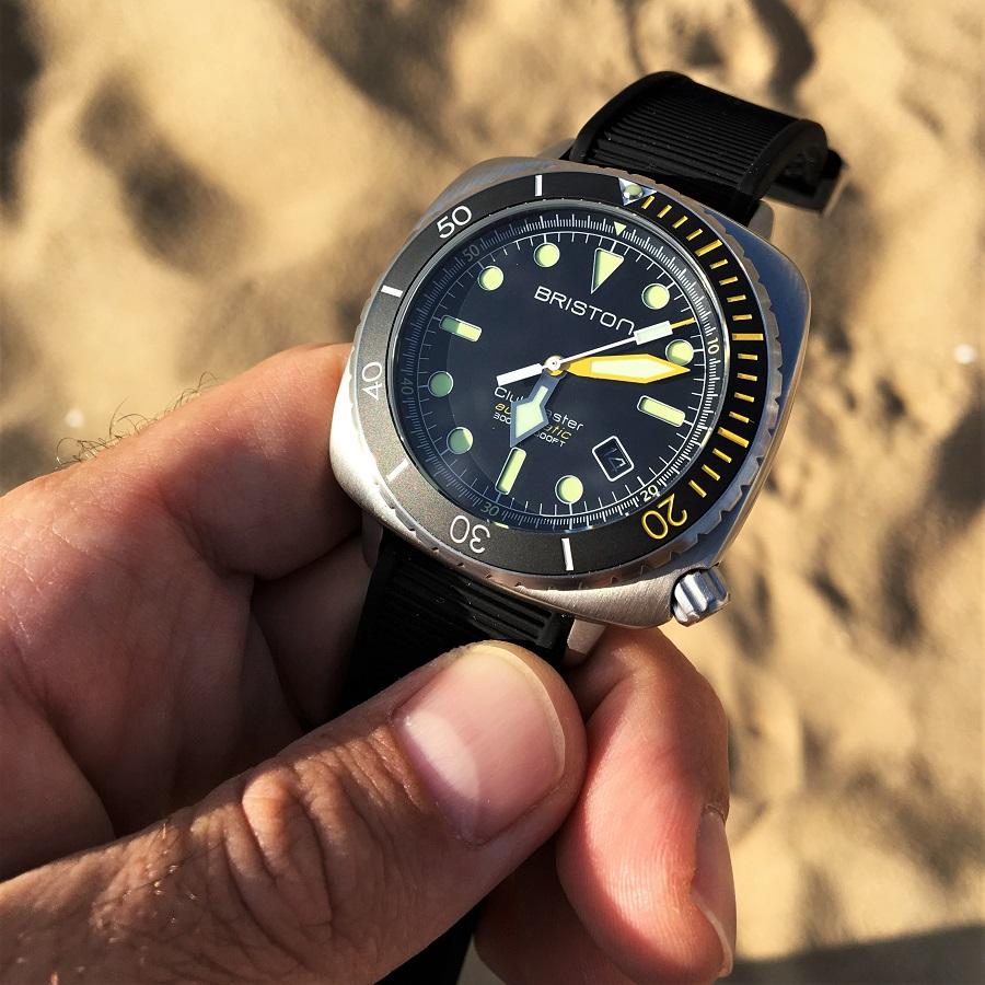Test de la montre BRISTON CLUBMASTER DIVER PRO
