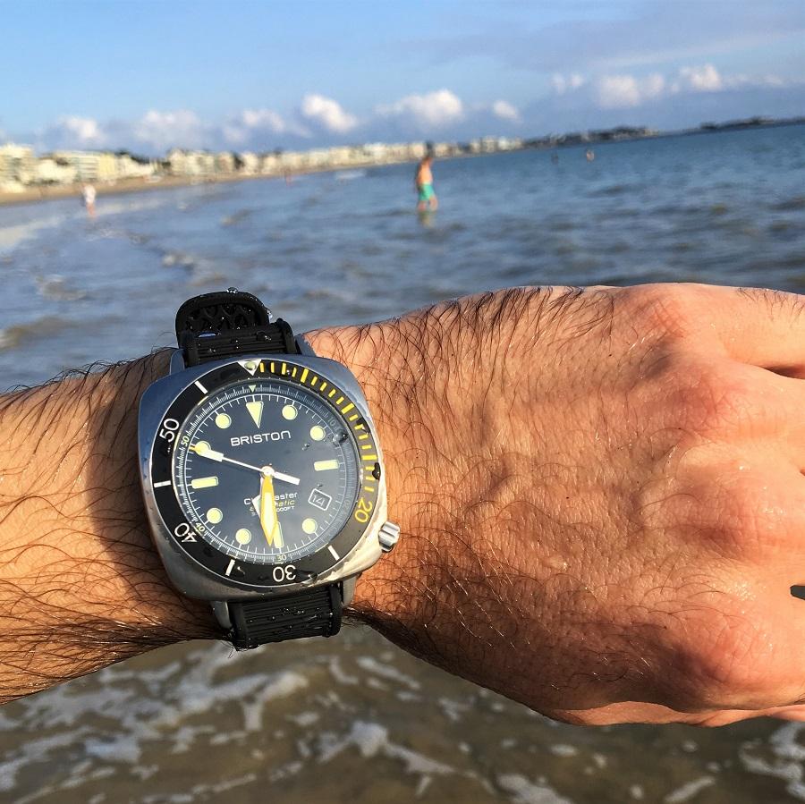 Briston – Clubmaster Diver Pro Acier - test en Atlantique
