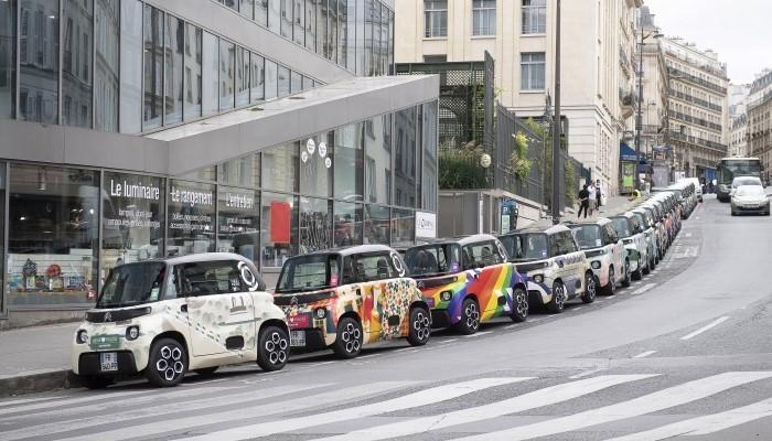 La flotte d'«Ami❤️Paris» marque le lien des Parisiens avec le 100% électrique