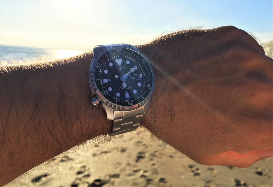 J'ai testé la nouvelle montre CITIZEN Promaster Marine