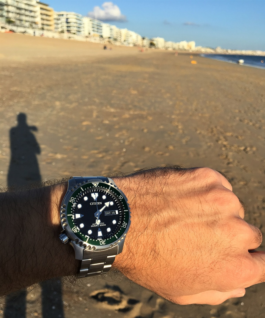 Test Montre CITIZEN, Promaster Marine Automatique