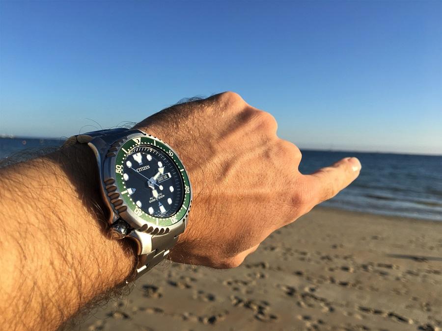 Test de la nouvelle montre CITIZEN Promaster Marine par la rédaction de L'HommeTendance.fr