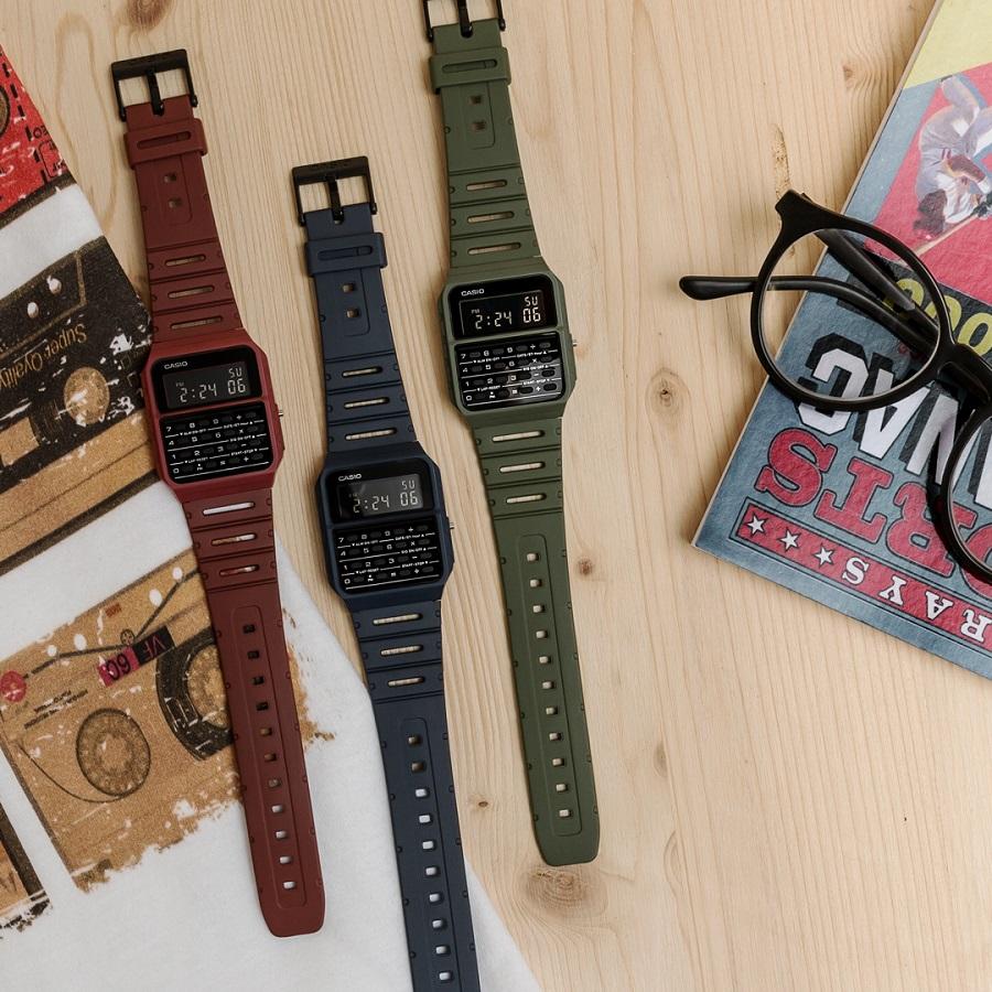 Nouvelle collection de montres calculatrice CASIO