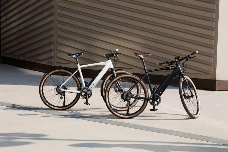 Le Vélo Mad - Modèle Le SPORT blanc et noir