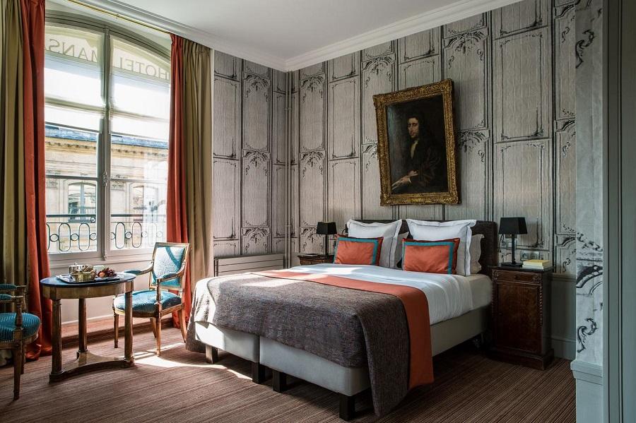 Hôtel Le Mansart - chambre