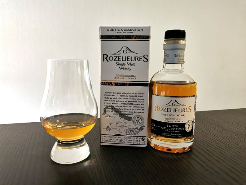 Avis Whisky Subtil Collection (40 %) | G. Rozelieures
