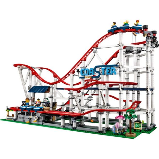 le roller-coaster en lego