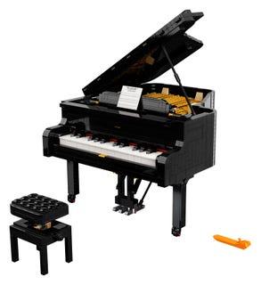 Le piano à queue - qui une fois construit - vous transformera en Mozart