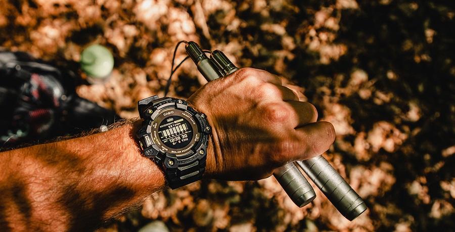 Vous gardez un œil attentif à l'intensité de vos efforts avec le cardiofréquencemètre intégré