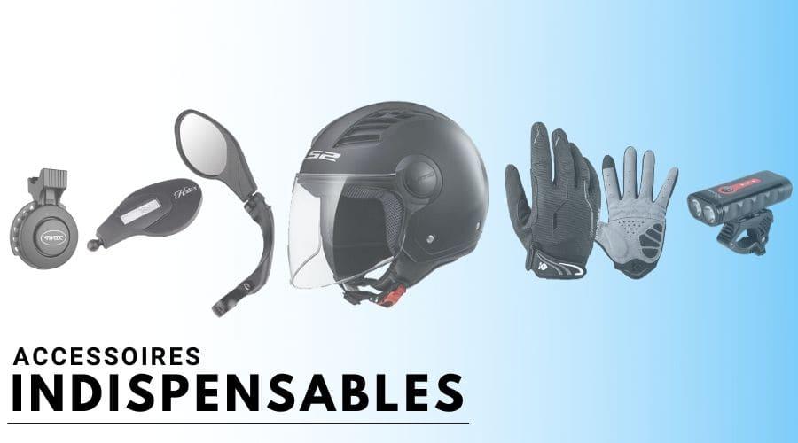 Quels sont les accessoires nécessaires pour rouler en toute sécurité sur une trottinette ?