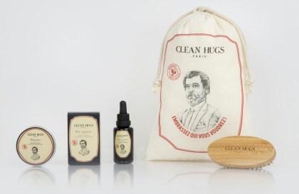 Clean Hugs, soins barbe 100% naturel, bio et artisanal