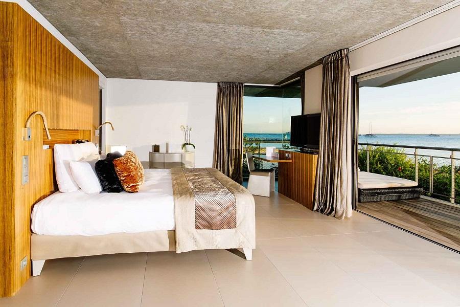Cap D'Antibes beach Hotel Junior Suite room 201 seaview.