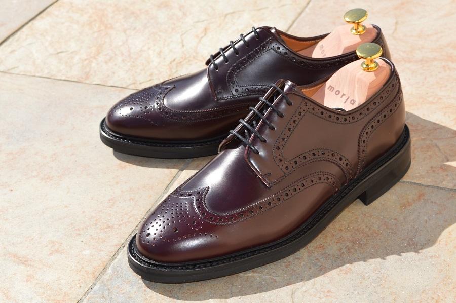 Morjas chaussures haut de gamme en cuir pour homme