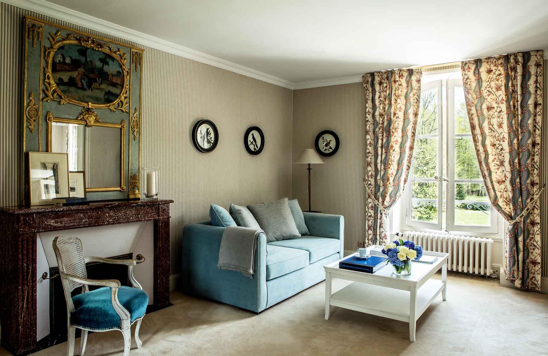 chambre 1 Hôtel Les Hauts de Loire