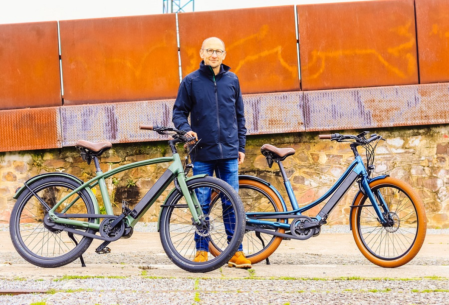 Stéphane Grégoire, Fondateur de REINE BIKE, les vélos électriques français haut de gamme et connectés