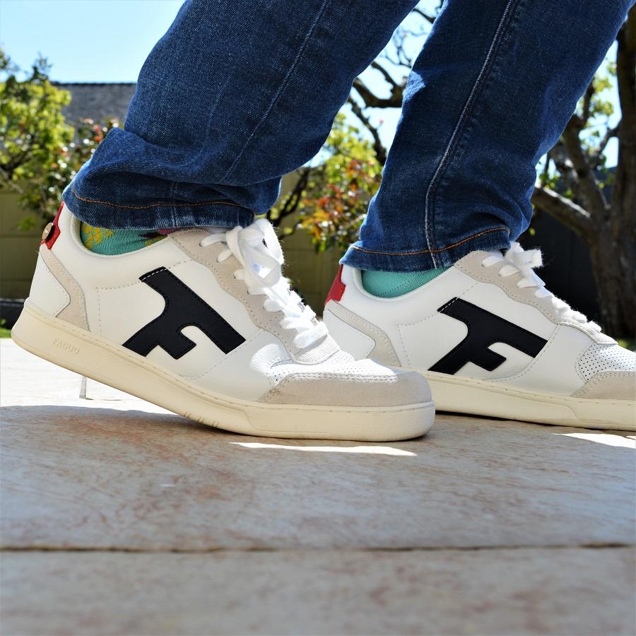 Baskets test et avis sneakers FAGUO 110€