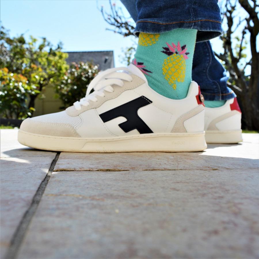 Test et avis sneakers FAGUO 110€