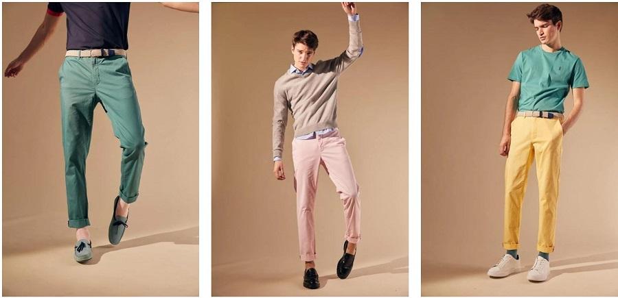 Pantalons d'été élégants pour homme