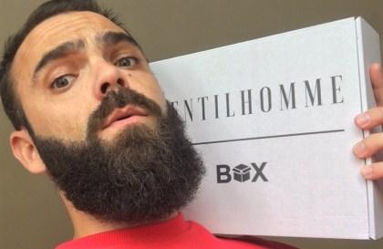 Test Gentilhomme box soins pour hommes