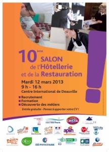 10e Salon des mtiers de lhtellerie et de la restauration  Deauville