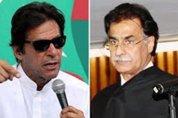 Imran Khan and Ayaz Sadiq