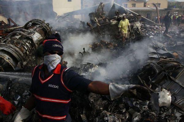 Nigerian air crash