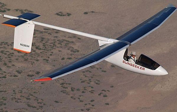 Solar-Powered Airplane
