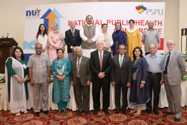 The panelists and speakers at the National Public Health Conference by NCRP