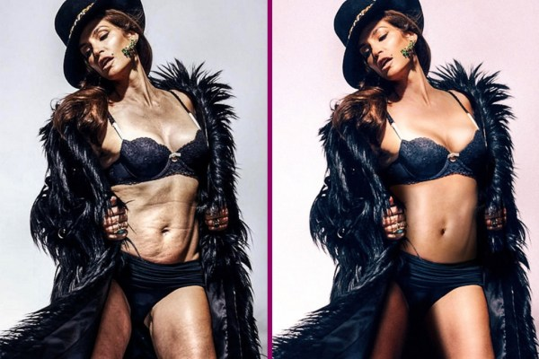 Cindy Crawford angry over Marie Claire unretouched photo leaked online