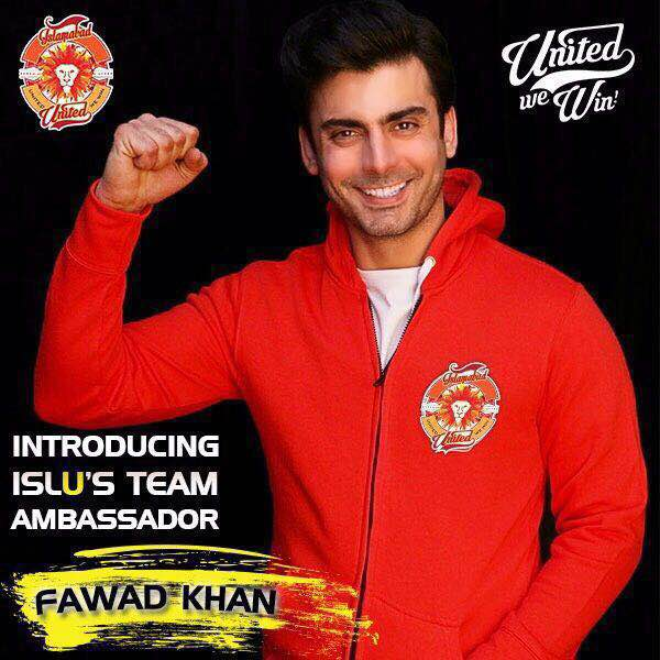 Islamabad United partners with Fawad Khan to take on PSL