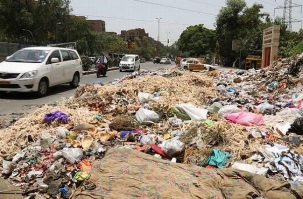 New Delhi garbage crisis