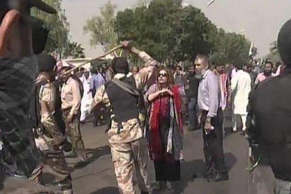 PIA employees, LEAs clash in Karachi