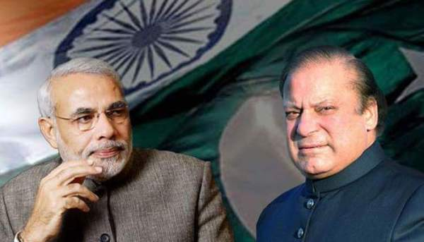 Narendra Modi and Nawaz Sharif