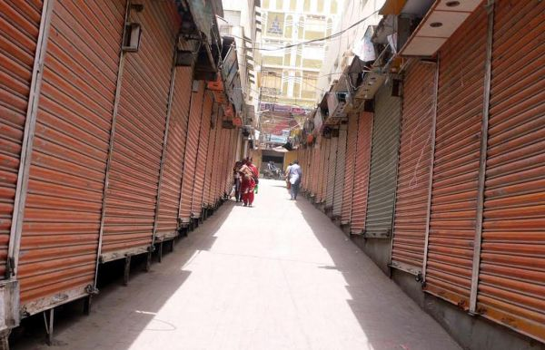 Hyderabad bazaars closed on strike call of MQM