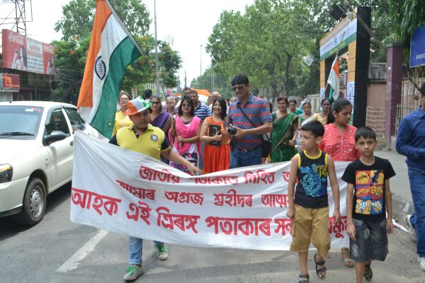 Saluting Tricolour to defy militants' diktat in Northeast