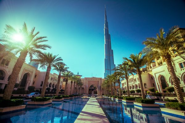 Burg Khalifa Tallest building in the world