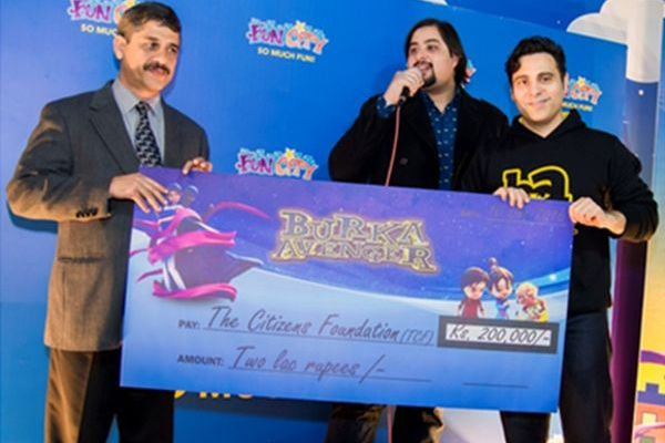 Burka Avenger raises funds for education