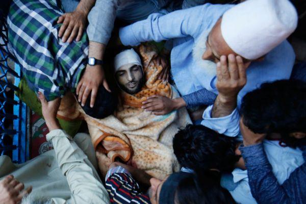Young Kashmiri leader Burhan Wani