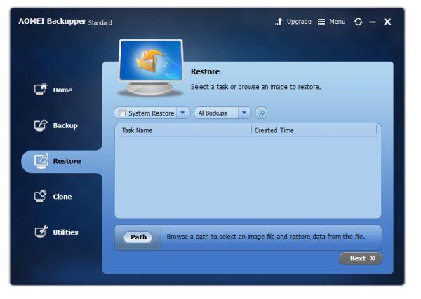 AOMEI Backupper Standard 4.0.4