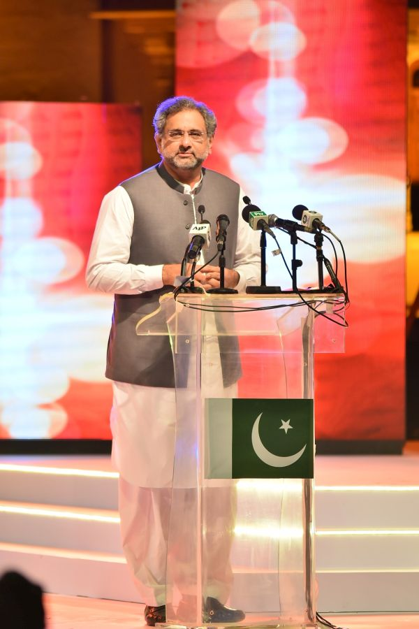 Honorable Prime Minister of Pakistan, Mr. Shahid Khaqan Abbasi