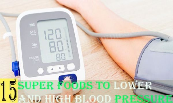 Super foods to Lower High Blood Pressure
