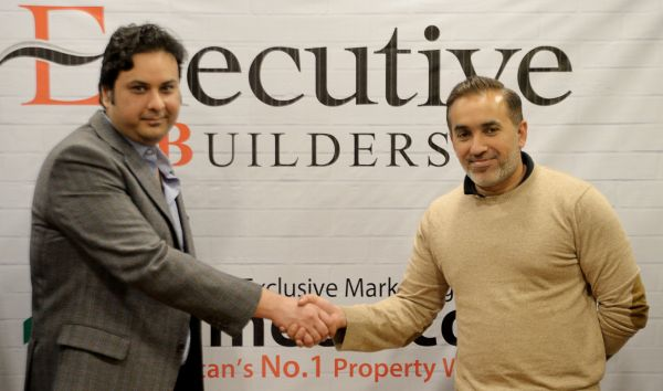 Zameen.com and Executive builders had signed an MoU