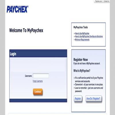 PAYCHEX EMPLOYEE LOGIN