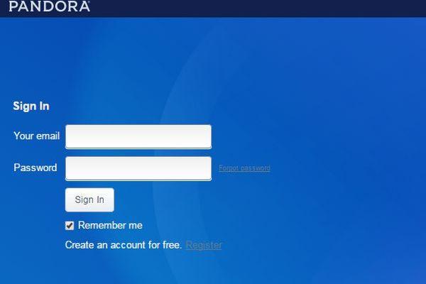 Pandora-Internet-Radio-Account-Login