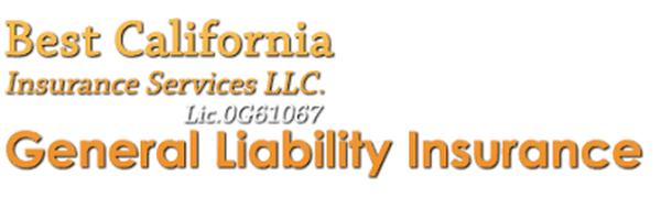 General Liability Insurance California