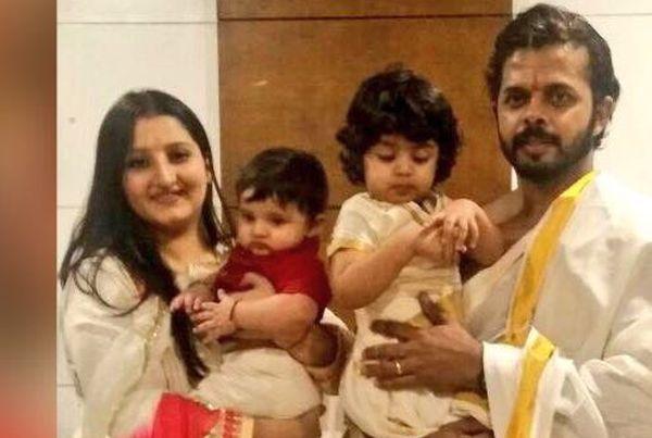 Sreesanth family photo