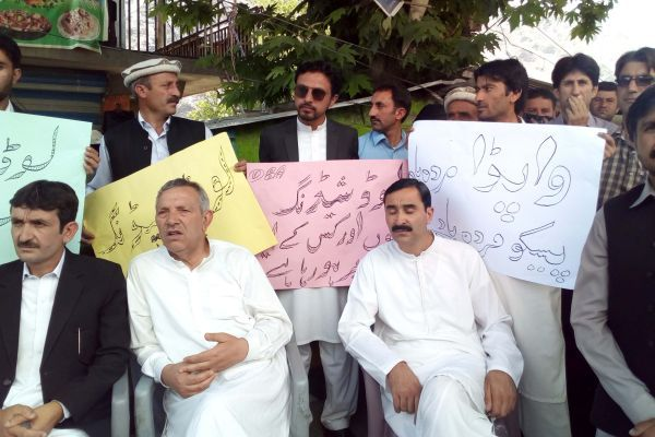 Protest held against power load shedding in Chitral