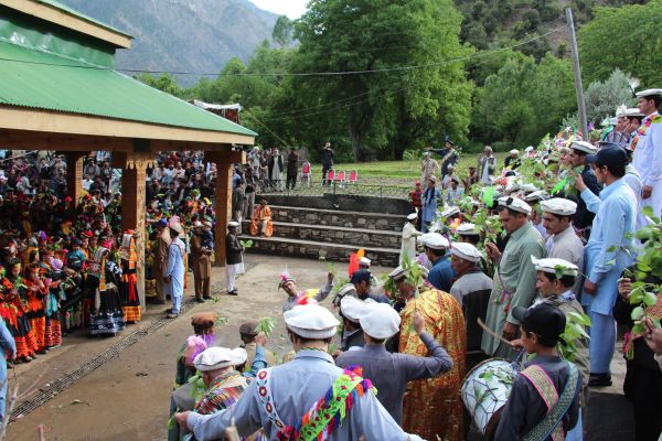 Kalash community annual festival