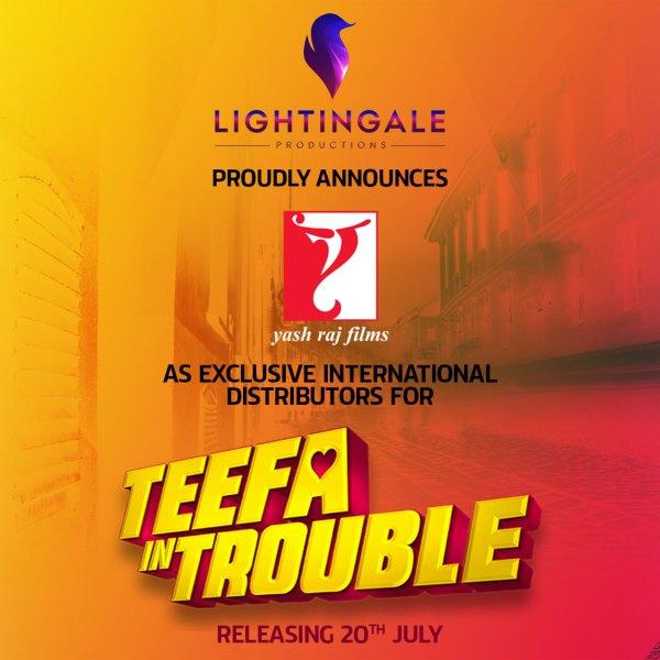 Lightingale Productions historic partnership with YRF films